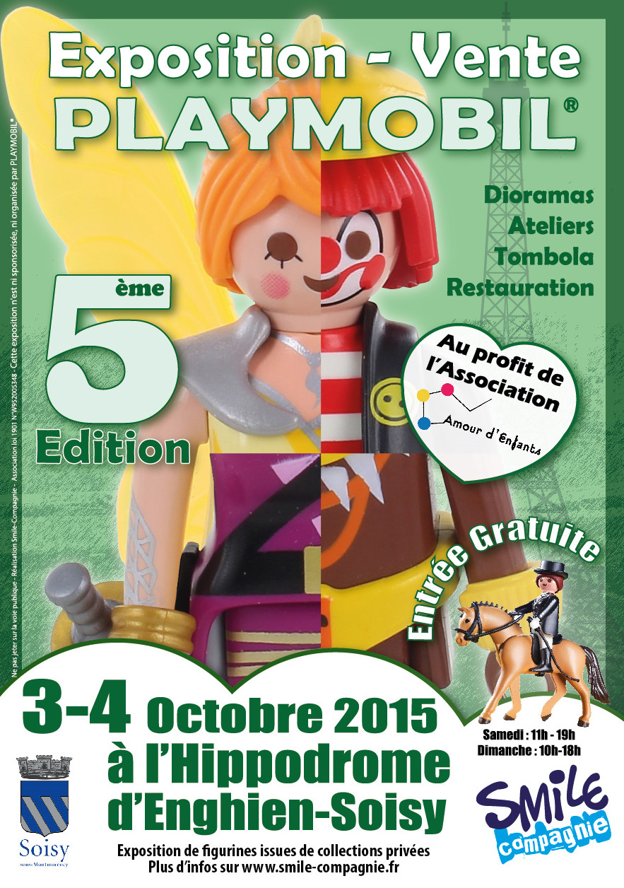 Flyer exposition Playmobil soisy 2015