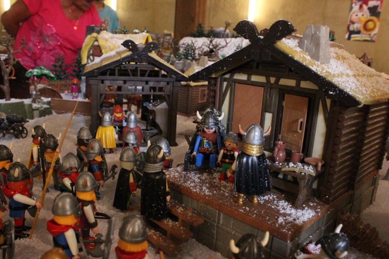 maison viking playmobil custom alizobil exposition playmobil morlaix